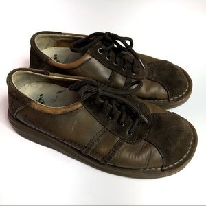 Dr Martens Air Wair 8A70 Brown Lace Up Shoes 5